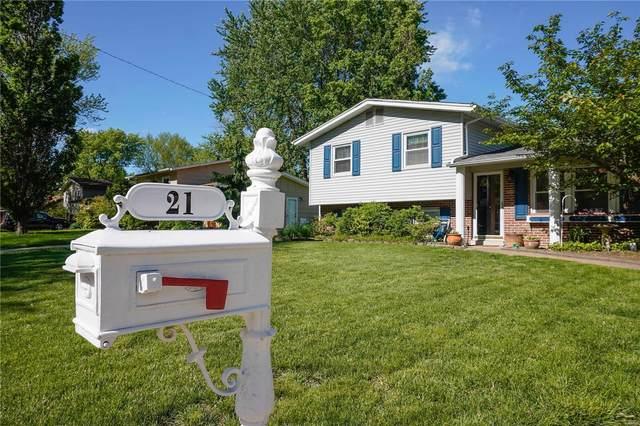 21 Village Drive, Belleville, IL 62226 (#21031616) :: Parson Realty Group
