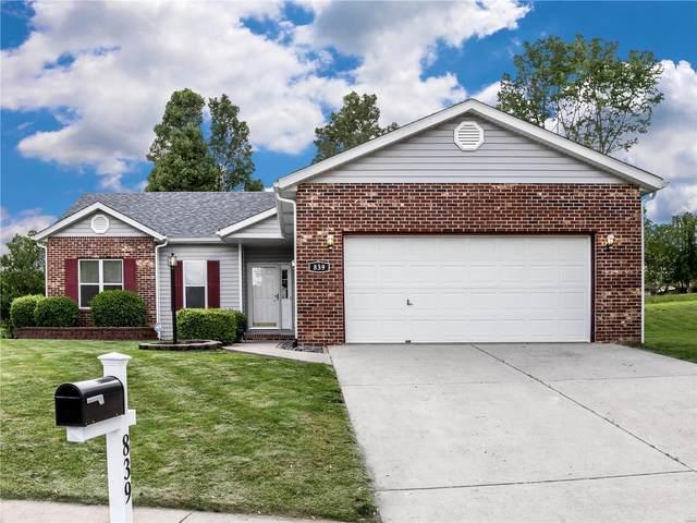 839 Emerald Green Drive, O'Fallon, IL 62269 (#21031762) :: Tarrant & Harman Real Estate and Auction Co.