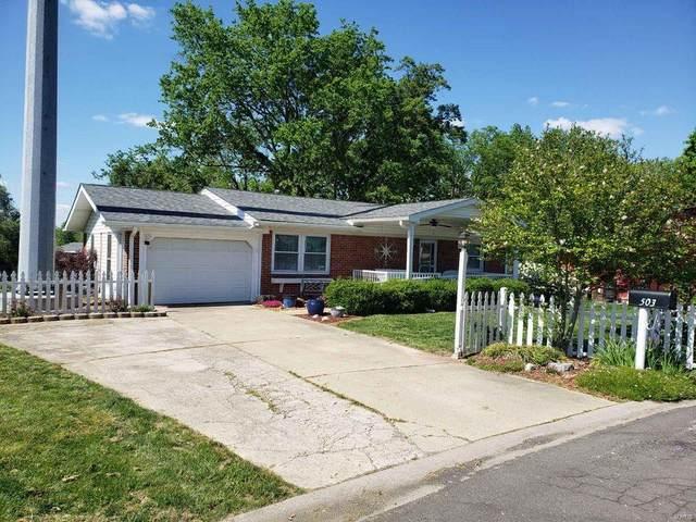 503 Sullivan, East Alton, IL 62024 (#21032146) :: Tarrant & Harman Real Estate and Auction Co.