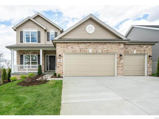 1 @ Nottingham At Prairie Wind, Wentzville, MO 63385 (#21032210) :: Parson Realty Group