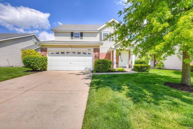 237 Stone Run Boulevard, Wentzville, MO 63385 (#21032426) :: St. Louis Finest Homes Realty Group