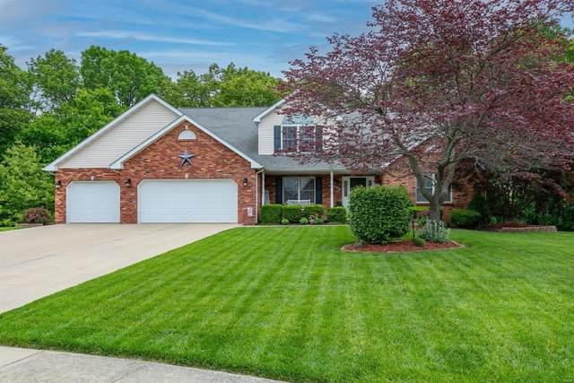 4209 Pommel Point, Shiloh, IL 62269 (#21032710) :: Matt Smith Real Estate Group