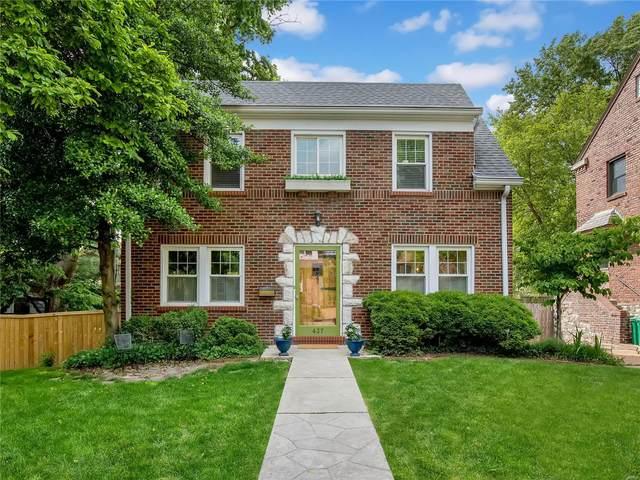 437 Edgewood Drive, Clayton, MO 63105 (#21032879) :: Clarity Street Realty