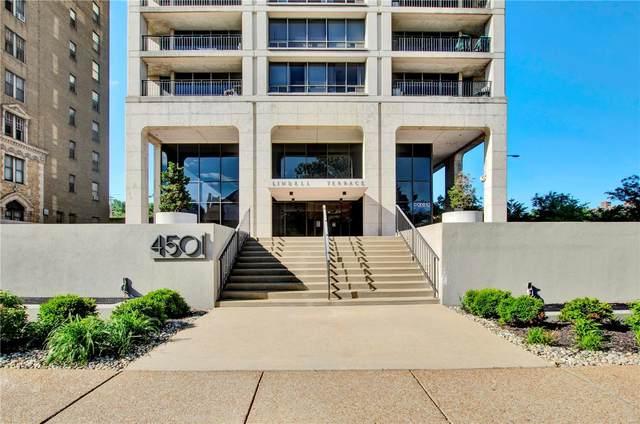 4501 Lindell Boulevard 10J, St Louis, MO 63108 (#21032936) :: Walker Real Estate Team