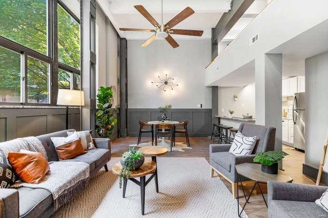 1523 S 10th St #102, St Louis, MO 63104 (#21032991) :: Jeremy Schneider Real Estate