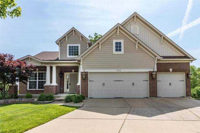 1270 Hawkins Bend Court, Fenton, MO 63026 (#21033074) :: The Becky O'Neill Power Home Selling Team