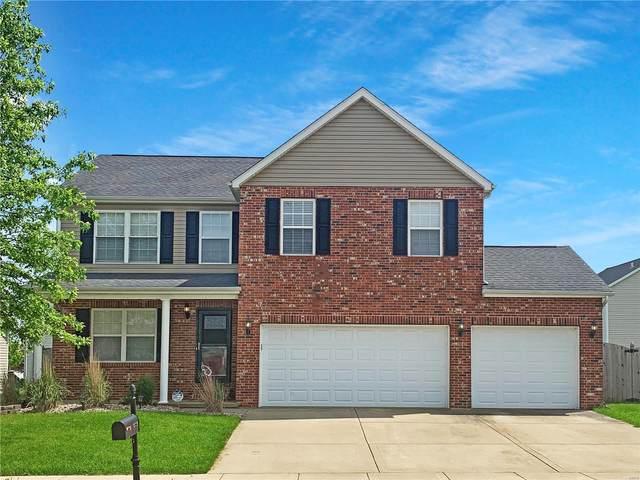 1003 Peach Lane, New Baden, IL 62265 (#21034635) :: Fusion Realty, LLC