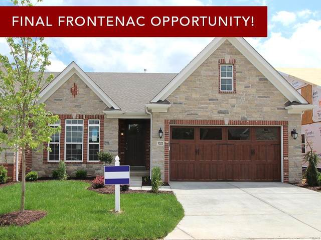 1305 Spring Snow Drive, Frontenac, MO 63131 (#21034757) :: Terry Gannon | Re/Max Results