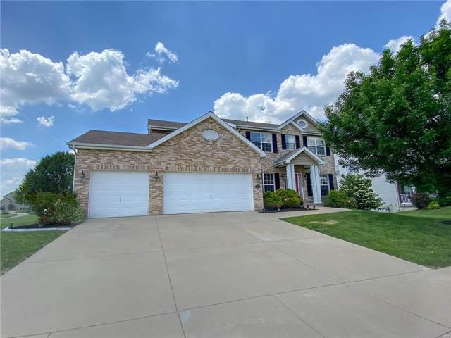 1301 Monarch Lake Lane, Shiloh, IL 62221 (#21034991) :: Fusion Realty, LLC