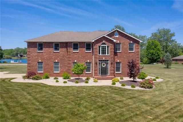 334 Spring Lake Road, Millstadt, IL 62260 (#21035123) :: Hartmann Realtors Inc.