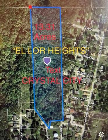 0 El-Lor Heights Lot 1, Crystal City, MO 63019 (#21035178) :: Parson Realty Group