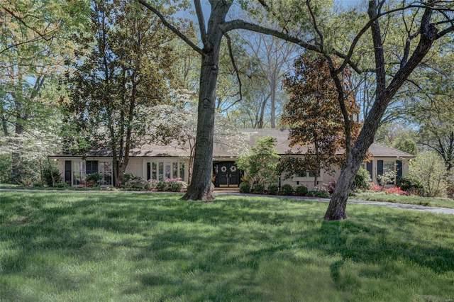9881 Waterbury Drive, Ladue, MO 63124 (#21035578) :: Kelly Hager Group | TdD Premier Real Estate