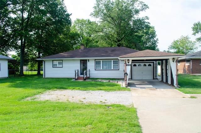 416 E Washington Street, Millstadt, IL 62260 (#21037122) :: Parson Realty Group