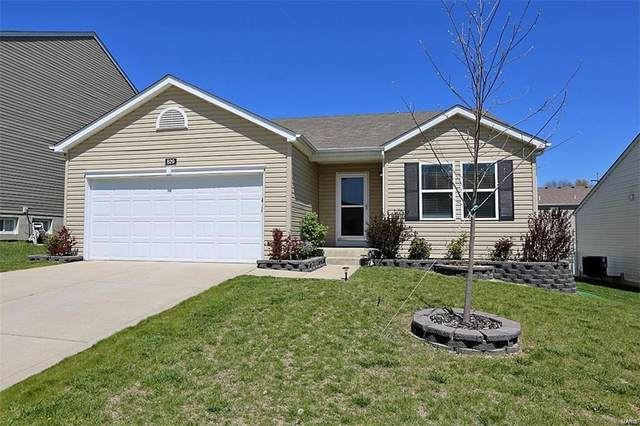 629 Hunt Run Drive, Wentzville, MO 63385 (#21037305) :: Kelly Hager Group | TdD Premier Real Estate