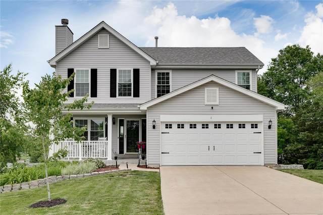 2 Fairway Estates Court, Eureka, MO 63025 (#21038344) :: The Becky O'Neill Power Home Selling Team