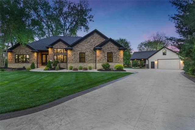 3816 White Oak Lane, Edwardsville, IL 62025 (#21038406) :: Fusion Realty, LLC