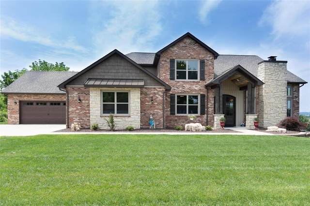 10 Grandview Bluff Drive, Columbia, IL 62236 (#21038672) :: Fusion Realty, LLC