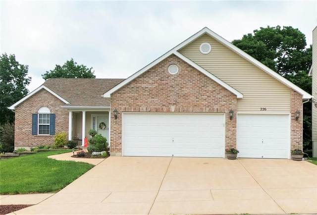 226 Romaine Spring View, Fenton, MO 63026 (#21039361) :: The Becky O'Neill Power Home Selling Team