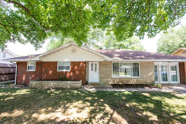 30 Crossroad Drive, Fairview Heights, IL 62208 (#21039506) :: Fusion Realty, LLC