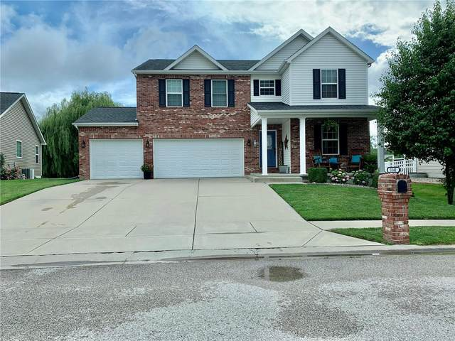 1141 Gulfstream Way, Mascoutah, IL 62258 (#21039621) :: The Becky O'Neill Power Home Selling Team