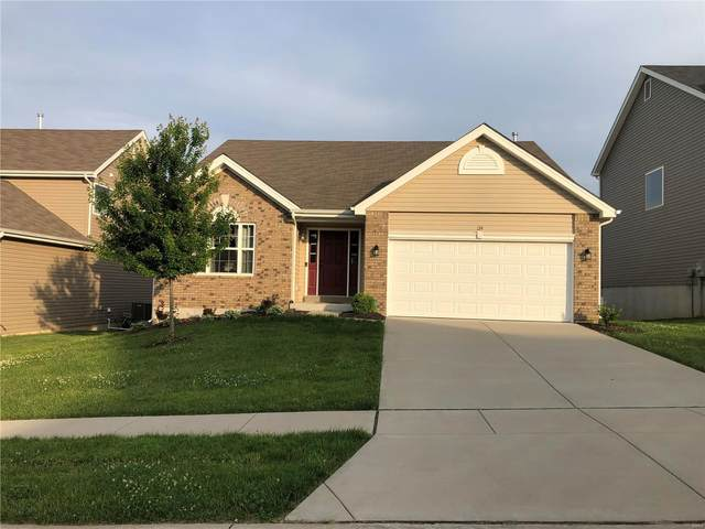 134 Champions Lane, Wentzville, MO 63385 (#21039827) :: Parson Realty Group