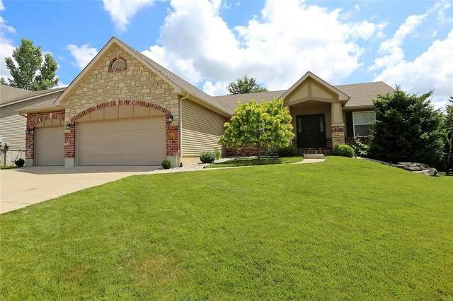 4220 Broken Rock Drive, Wentzville, MO 63385 (#21039876) :: St. Louis Finest Homes Realty Group