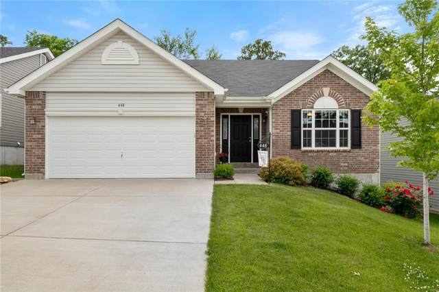 448 Peruque Hills Parkway, Wentzville, MO 63385 (#21040059) :: St. Louis Finest Homes Realty Group