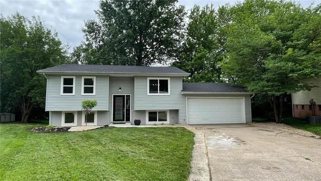 510 Trails Ridge Drive, Glen Carbon, IL 62034 (#21040132) :: Realty Executives, Fort Leonard Wood LLC