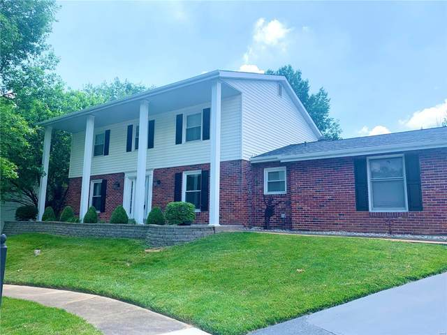 15684 Silverlake Court, Chesterfield, MO 63017 (#21040415) :: Parson Realty Group