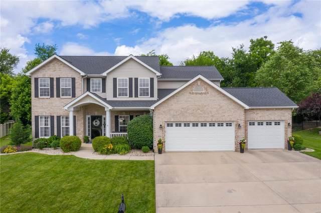 3014 Roan Hill, Belleville, IL 62221 (#21040563) :: Century 21 Advantage