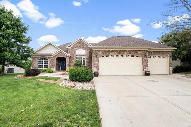 1025 Carnegie Knolls Drive, O'Fallon, IL 62269 (#21040608) :: Clarity Street Realty