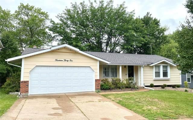 1431 Glenlea Drive, Maryland Heights, MO 63043 (#21040639) :: RE/MAX Vision