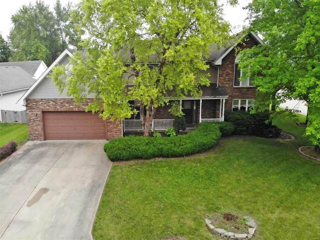 27 Timber Meadows Court, Edwardsville, IL 62025 (#21040655) :: Realty Executives, Fort Leonard Wood LLC