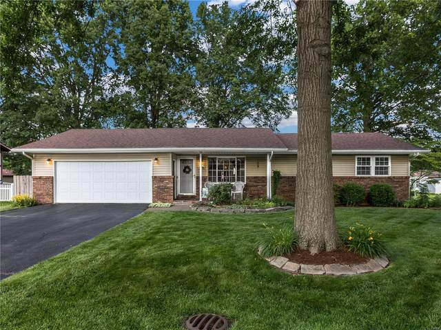 111 James Drive, Troy, IL 62294 (#21040697) :: Fusion Realty, LLC