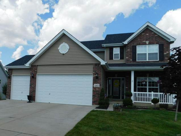 287 Sonnet Circle, Wentzville, MO 63385 (#21040795) :: The Becky O'Neill Power Home Selling Team