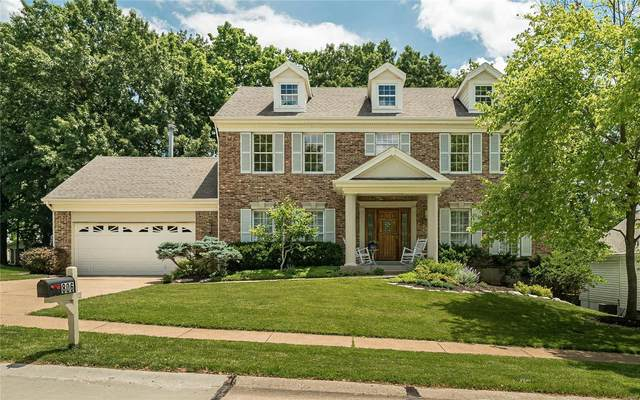806 Whispering Meadows Drive, Manchester, MO 63021 (#21041009) :: Parson Realty Group