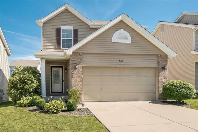 605 Spring Manor, O'Fallon, MO 63368 (#21041112) :: Kelly Hager Group | TdD Premier Real Estate