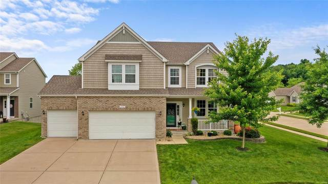 772 Grace View Court, Eureka, MO 63025 (#21041128) :: The Becky O'Neill Power Home Selling Team