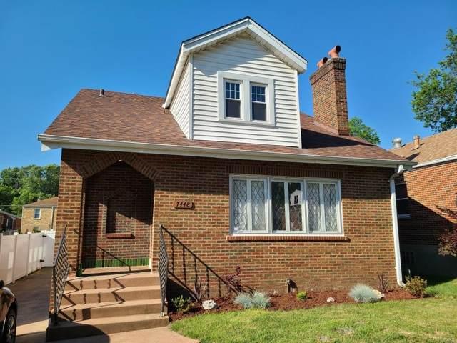7448 Hillsdale Drive, St Louis, MO 63121 (#21041402) :: Krch Realty
