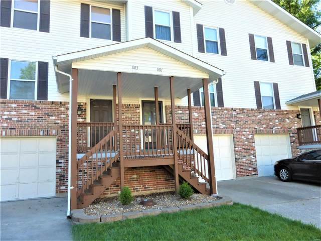 881 Delray Drive J, Saint Peters, MO 63376 (#21041548) :: Kelly Hager Group   TdD Premier Real Estate