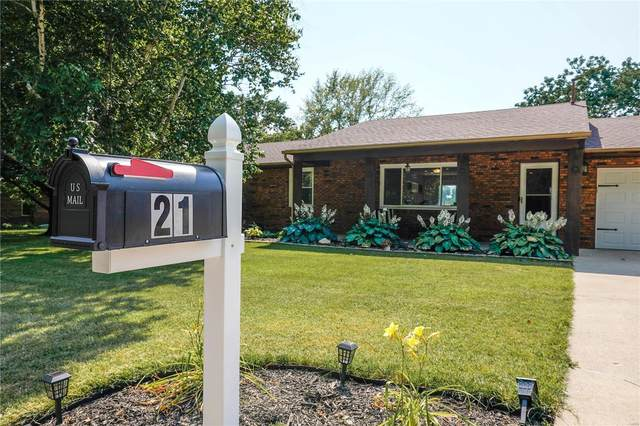 21 Gary Avenue, Maryville, IL 62062 (#21041844) :: Hartmann Realtors Inc.