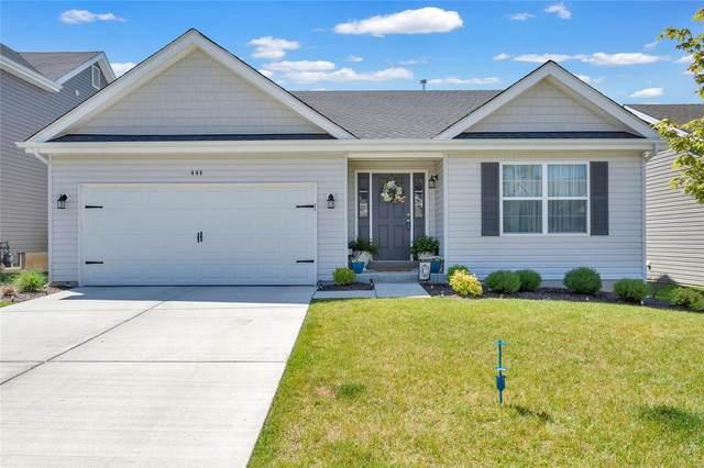 444 Dusty Brook Drive, O'Fallon, MO 63366 (#21041915) :: The Becky O'Neill Power Home Selling Team