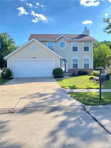 1704 Stoney Terrace Dr., Ballwin, MO 63021 (#21042039) :: Jeremy Schneider Real Estate