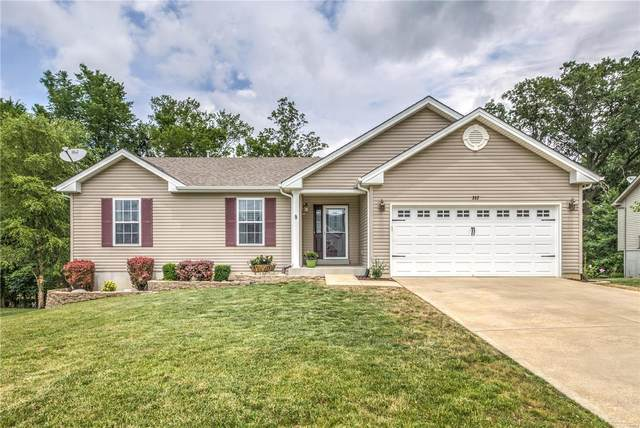 352 Rockport Drive, Troy, MO 63379 (#21042088) :: St. Louis Finest Homes Realty Group