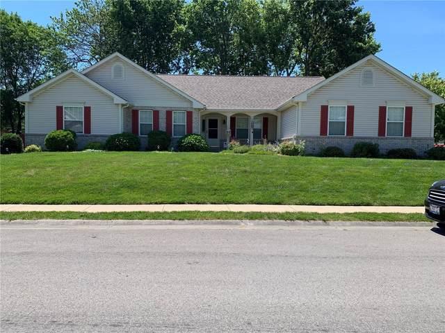 1253 Conrad Lane, O'Fallon, IL 62269 (#21042099) :: Hartmann Realtors Inc.