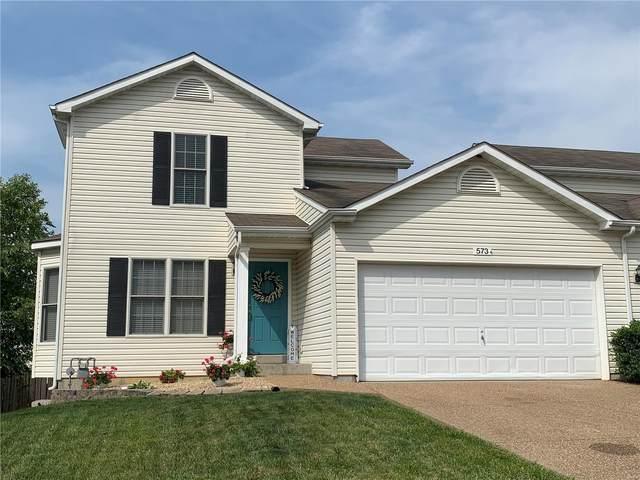573 Donna Marie Drive, Wentzville, MO 63385 (#21042651) :: Century 21 Advantage