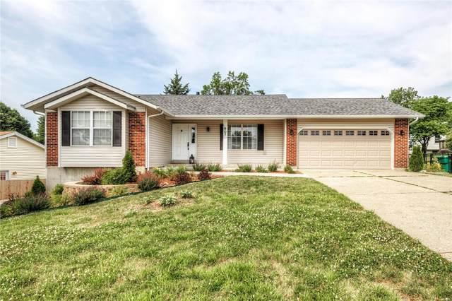 607 Oregon Trail Drive, Saint Charles, MO 63304 (#21042781) :: Matt Smith Real Estate Group