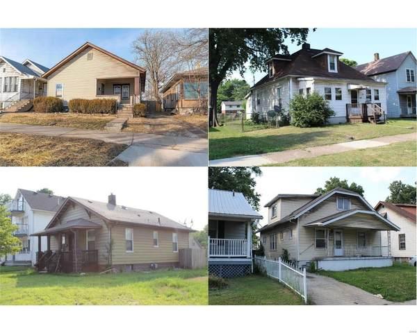 2433 Washington (11 Homes), Granite City, IL 62040 (#21042785) :: Hartmann Realtors Inc.