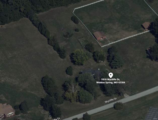 5910 Wycliffe Drive, Weldon Spring, MO 63304 (#21042849) :: PalmerHouse Properties LLC