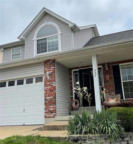 557 Winter Bluff Drive, Fenton, MO 63026 (#21042907) :: Kelly Hager Group   TdD Premier Real Estate